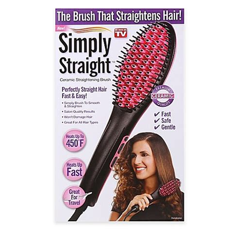 Traditional Home Christmas Decorating Ideas Simply Straight Ceramic Straightening Brush Bed Bath