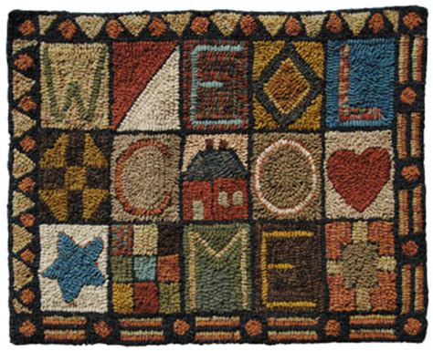 hook rug kits for rug hooking patterns and kits free rug hook