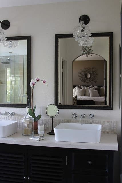 custom framed bathroom mirrors 1000 images about custom framed mirrors on pinterest