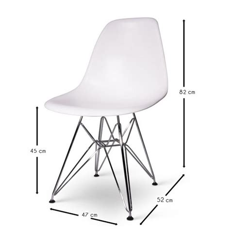 Chaise Inspiration Eames by Chaise Eames Dsr Inspiration Meubles Design Chaises Design