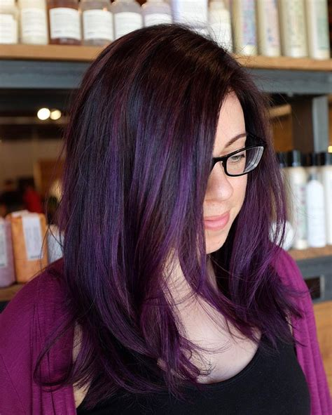 black with purple colour in their hair best 25 purple hair ideas on pinterest violet hair