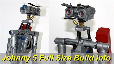 film robot johnny 5 xrobots short circuit johnny five life sized build