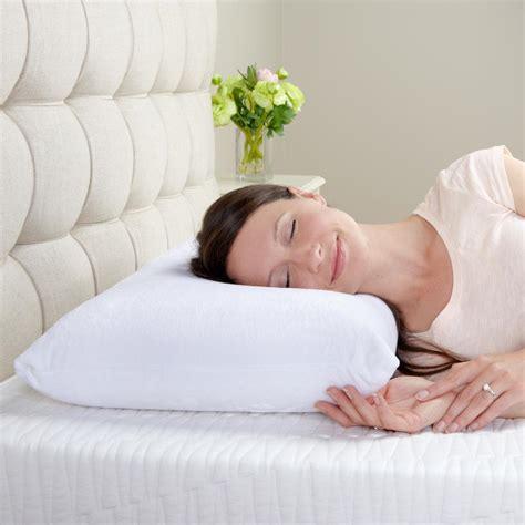 foam bed pillows biopedic classic contour memory foam bed pillows 2 pack