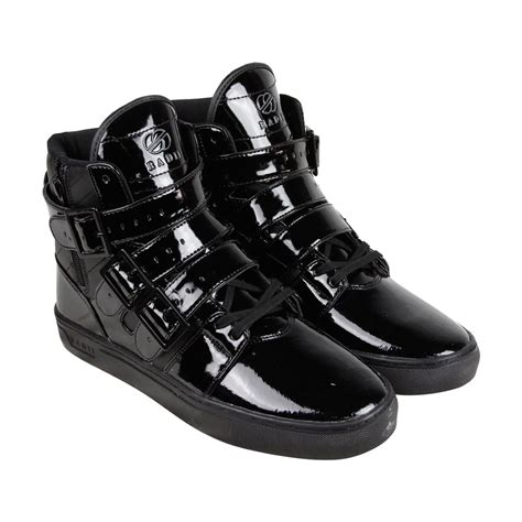 mens black patent leather sneakers radii jacket vlc black black patent leather mens