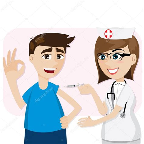 imagenes de niños vacunandose dibujos animados doctor vacunaci 243 n para el paciente