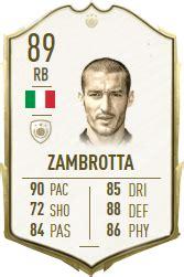 gianluca zambrotta fifa  icon player