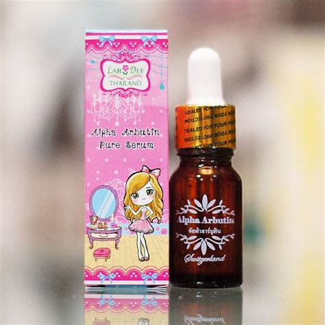 Wap Whitening Alpha Arbutin labdee alpha arbutin serum whitening lightening acne scars freckles thailand best