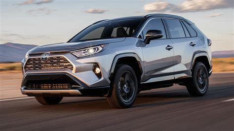 2019 toyota rav4 hybrid 2019 toyota rav4 hybrid test more power less gas