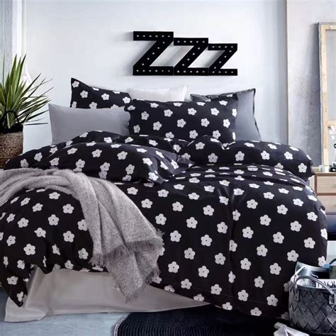 black and white floral bedding sets get cheap floral bedding aliexpress