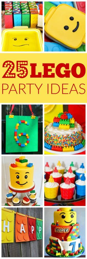 25 party ideas for kids celebration ideas for kids 25 lego themed party ideas pretty my party