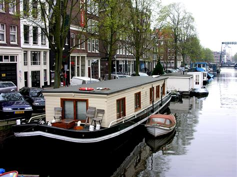 boat houses amsterdam world travel with anne