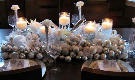 Silver Table Decorations by 65 Adorable Table Decorations Decoholic