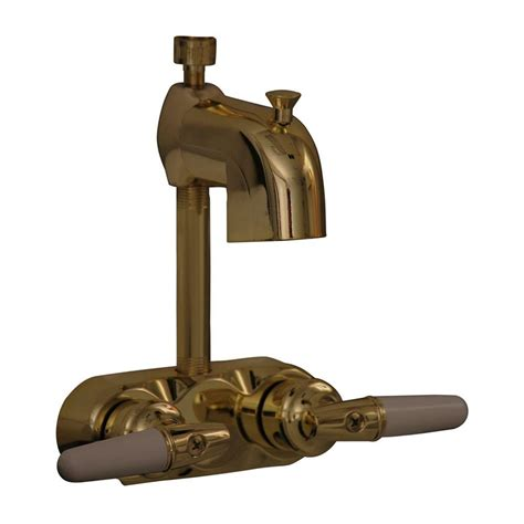 barclay products metal lever 2 handle claw foot tub faucet