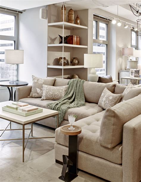 Sofa Industry by Americaneye Showroom Industries Tufted Sectional
