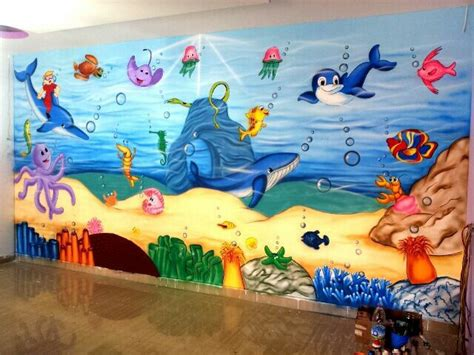 painting in school 3d wall painting indore school wall painting indore
