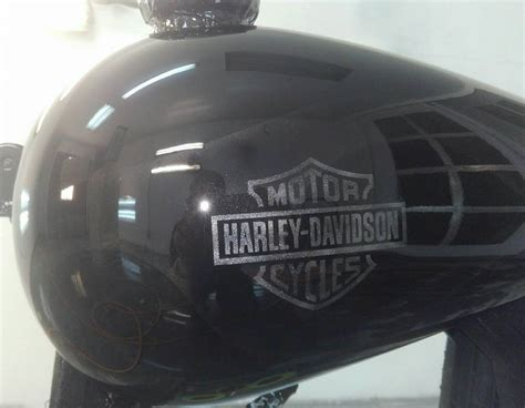 ghost pattern paint jobs ghost flame paint job on a harley tank td customs