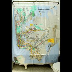new york subway shower curtain 1000 images about bathroom shower curtain on pinterest