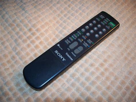 Remot Remote Tv Sony Tabung Trinitron Rm 870 Kw Perangkat Elektronik sony rm 870 trinitron tv remote part number