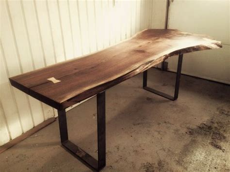 Live Edge Walnut Dining Table Made Live Edge Black Walnut Dining Room Table By Bois Design Custommade