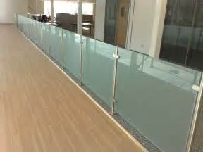 Contemporary Banister Rails Glass Balustrades From Modern Glass Oxfordshire And London