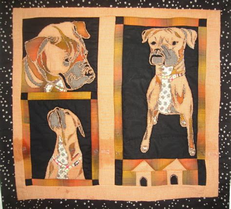 Boxer Quilt Pattern - quilt 187 creations