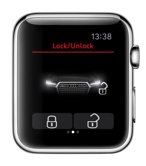 Audi Mmi Connect App by Audi Mmi Connect App For Apple Watch Sneaks Out Of Ces