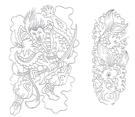 tattoo designs outlines all evil outlines pictures to pin on