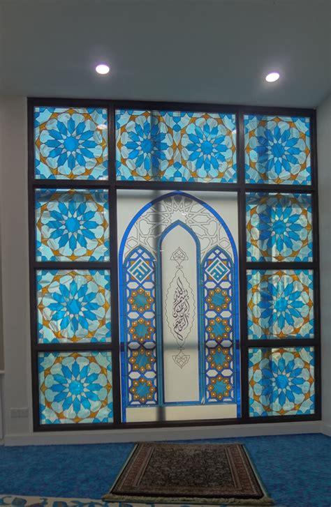 islamic pattern glass islamic art and patterns on glass glass network malaysia