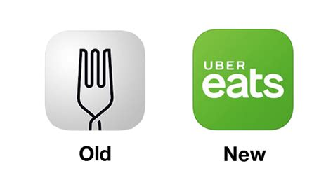 logo uber eats ubereats new logo looks vastly different doesn t garner welcomed responses designtaxi