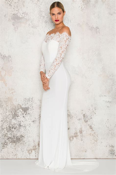 White Swan Dress dm white swan maxi dress dennis maglic