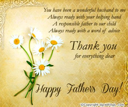 fathers day sayings husband day card sayings for husband