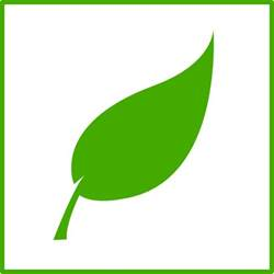 Green Leaf Outline Png by Green Leaf Icon Clip At Clker Vector Clip Royalty Free Domain