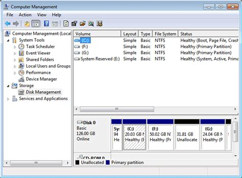 how to partition hard drive in windows 7 without formatting image gallery disk management