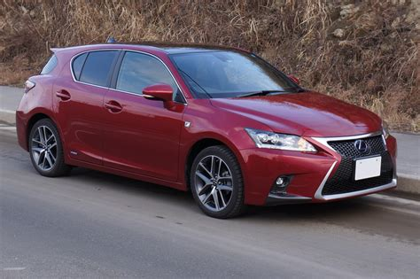 lexus ct200 2013 file lexus ct200h fsport 2014 front japan png wikimedia