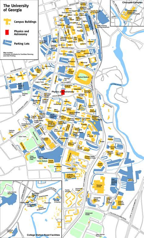 Uga Campus Map   MAP2
