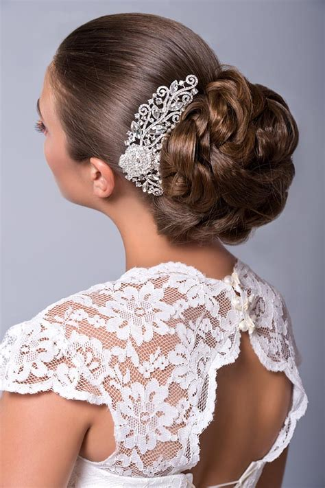 Wedding Hairstyles With Rhinestones by Wedding Hairstyles Gallery Bridal Hairstyles Updos