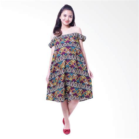 Dress Sabrina Etnik jual modern bolero batik etnik sabrina cantik