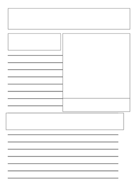 template ks1 information page template by zowinda teaching resources