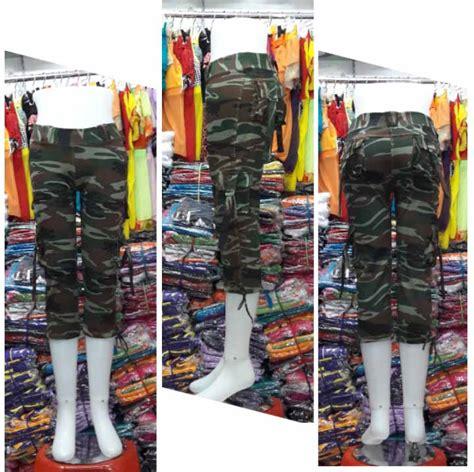 Celana Kulot Motif 04 celana senam 3 4 motif army code ack34 003 baju senam murah model terbarubaju senam murah
