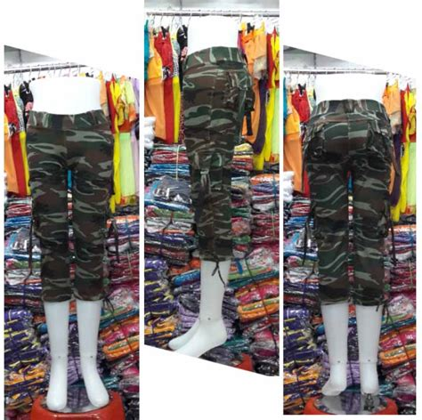 Celana 34 Motif celana senam 3 4 motif army code ack34 003 baju senam murah model terbarubaju senam murah