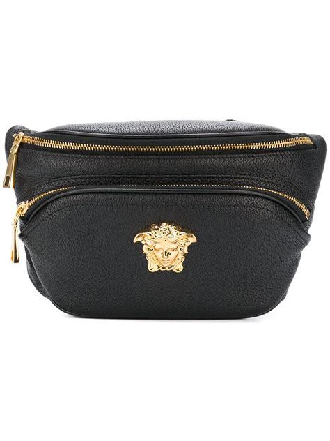 Waist Bag Gucci Nagita 7735 Mc lyst versace palazzo belt bag in black for