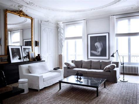 luxury apartment a parisian style 画像 モノトーンな部屋の海外実例集 随時更新 naver まとめ