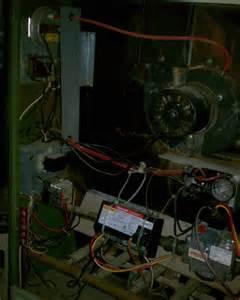 25 year rheem forced air gas furnace it heats