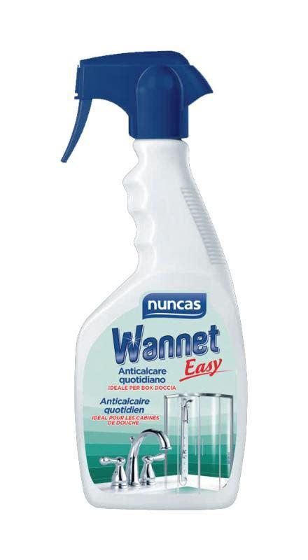 prodotti anticalcare per box doccia detergente anticalcare per doccia nuncas