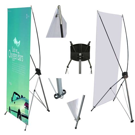 Tripod Display 2 Sisi Tripod Banner Tripod Poster Berdiri roll up banners the power of visual branding la print and design