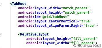 Xml Layout Definition | android getchildat fremdgesteuert