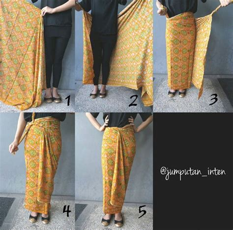 tutorial kain batik untuk rok 1000 images about kebaya on pinterest javanese lace