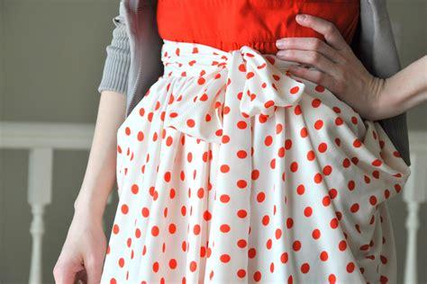 diy draped skirt the gathered drape skirt with pockets tutorial