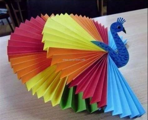 3d Paper Craft Ideas - creative paper ideas upcycle