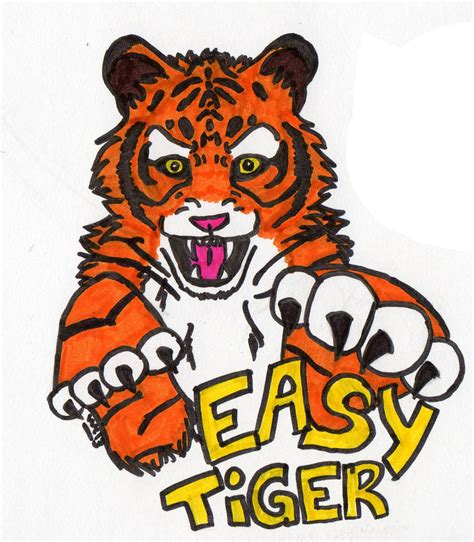 tiger easy easy tiger by wildcookie13 on deviantart